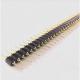Conector Header IC Macho - Macho 40 posiciones 2.54mm Gold