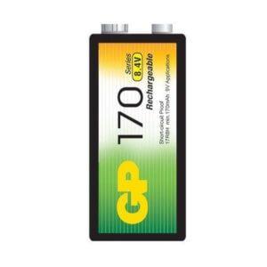 Pila recargable 9 voltios nimh 170 mah