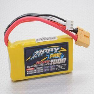 Bateria 11.1v ZIPPY Compact1000mAh 3S Lipo 25c