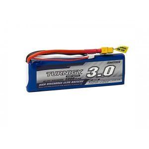 Bateria 7.4v Turnigy 3000mAh 2S 40C Lipo Pack w/XT-60