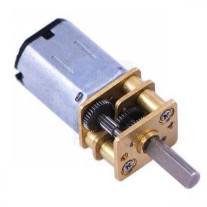 Micro Motorreductor 30:1 1000 RPM 0.6kg-cm - (Pololu) Con eje del motor extendido.