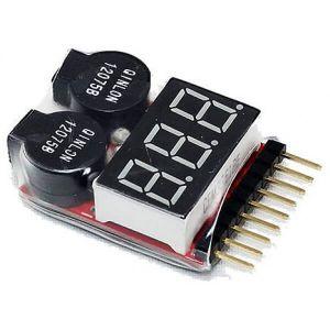 Salva Lipo Tester de 1S-8S Para Baterías LIPO