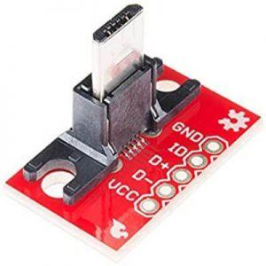 Tarjeta con conector micro USB-B