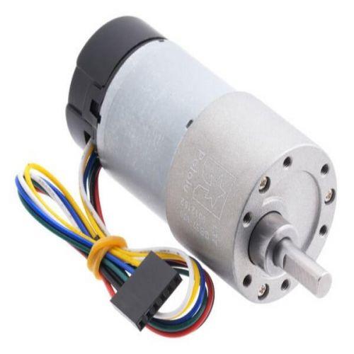 Motorreductor de metal 37Dx73L 12V (piñón helicoidal)