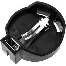 Portapilas para pilas de botón CR2032