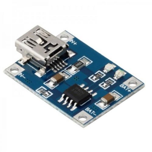 Módulo Cargador Batería de LiPo 1A Mini Usb 5V – TP4056