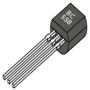 BC558 Transistor BJT PNP