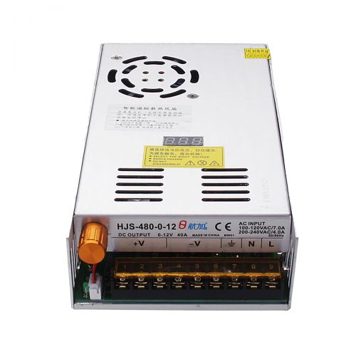 Fuente conmutada de voltaje variable  480W/20A, 0-24VCD HJS-480-24