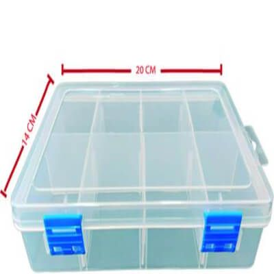 Caja Organizadora Transparente