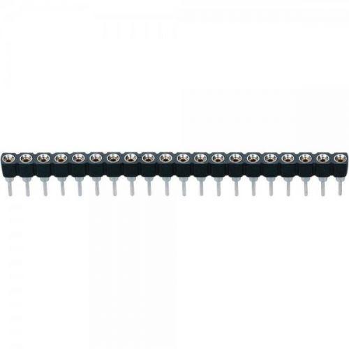 Conector header IC Macho - Hembra 40 posiciones 2.54mm