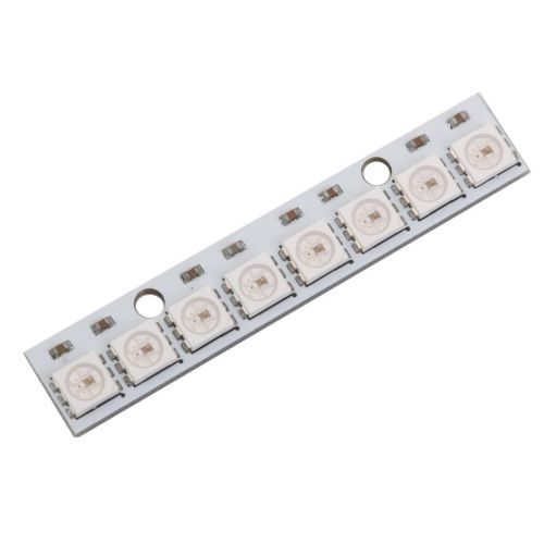 Módulo 8 LEDS RGB Linea WS2812