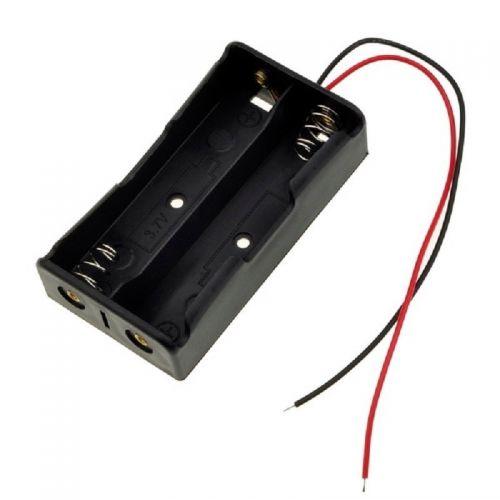 Porta Pila X2 AA Con Cable