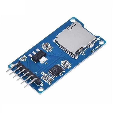 Modulo Micro SD TF Lectura y Escritura Memoria uSD SPI